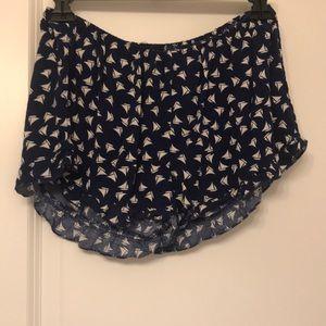 Rue21 Sailboat Shorts
